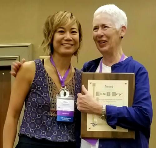 Kim Chanbonpin and Linda Berger