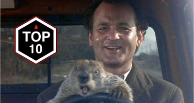 Top 10 Groundhog Day