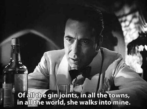 Casblanca Bogart