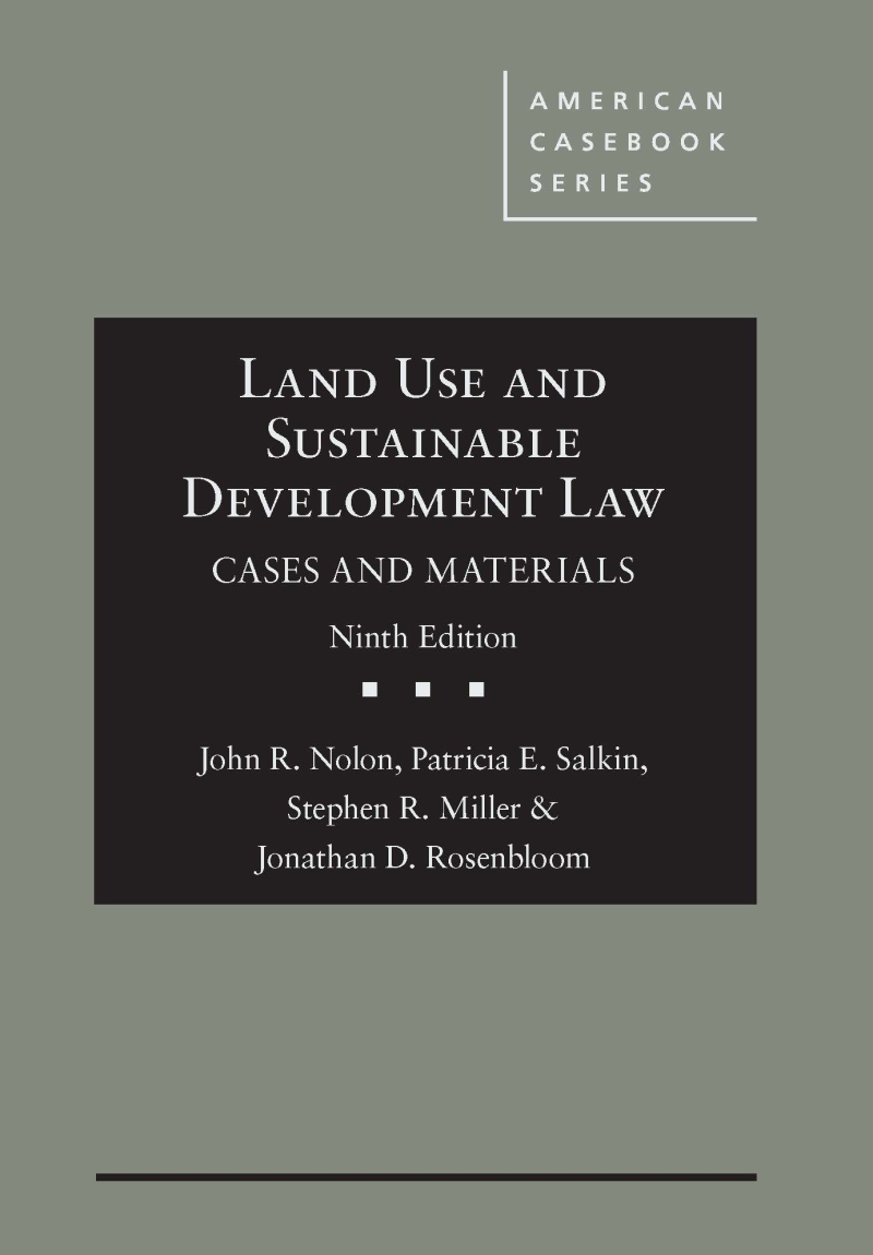 Pages from Nolon Land Use and Sustainable Development Law 9e