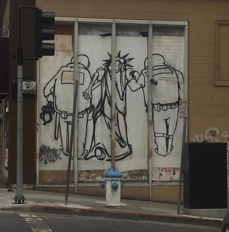 SF graffiti art