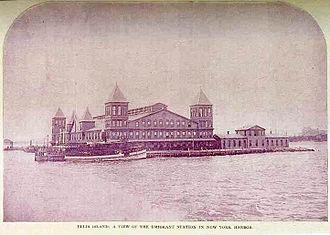 330px-Ellis_Island_First_Bldg_Burnt_15-June-1897