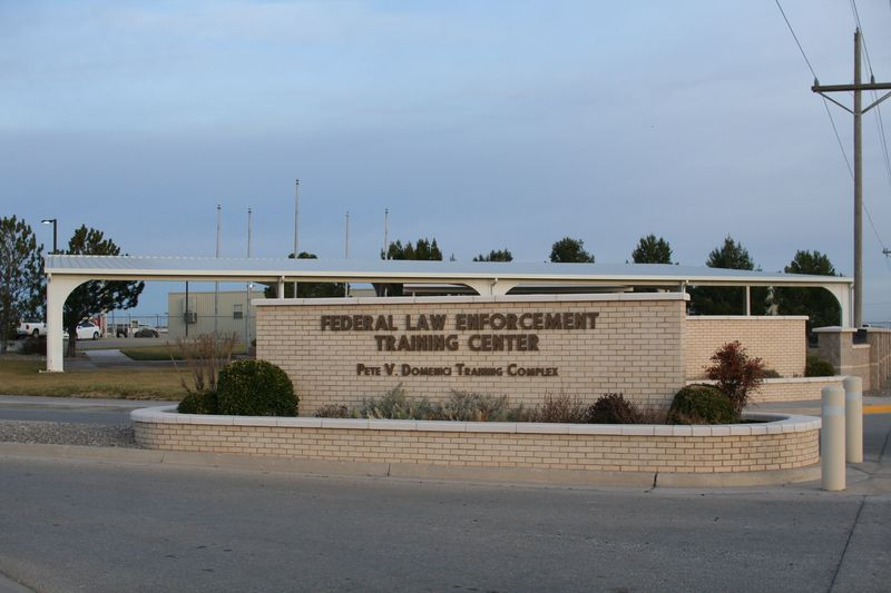 Artesia New MexicoFLETC Entrance Sign