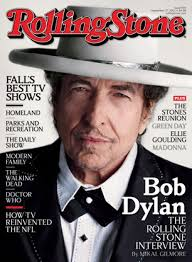 Cover of Rolling Stone with Bob Dylan