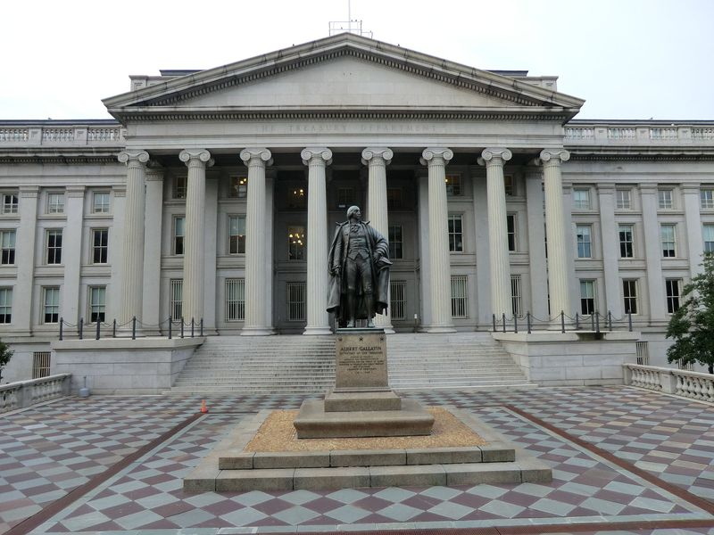 US Treasury bldg