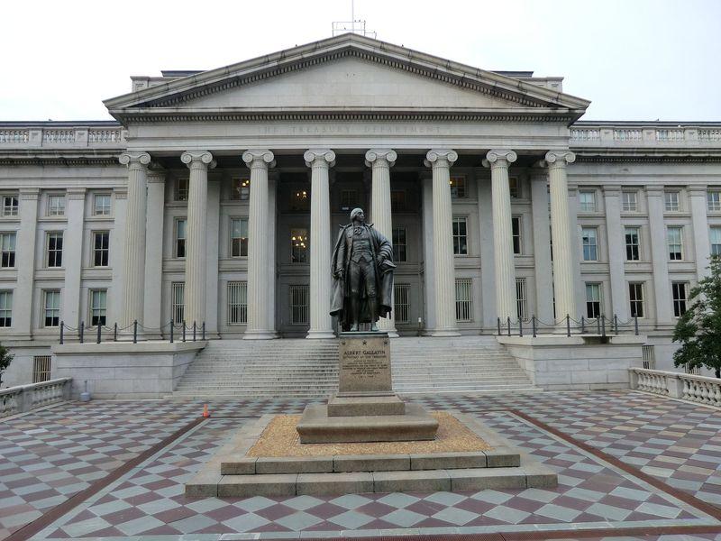 US Treasury bldg