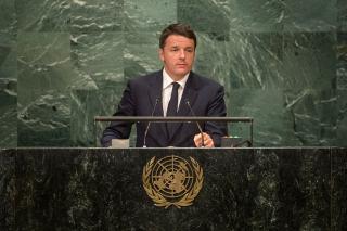 Italian President Matteo Renzi