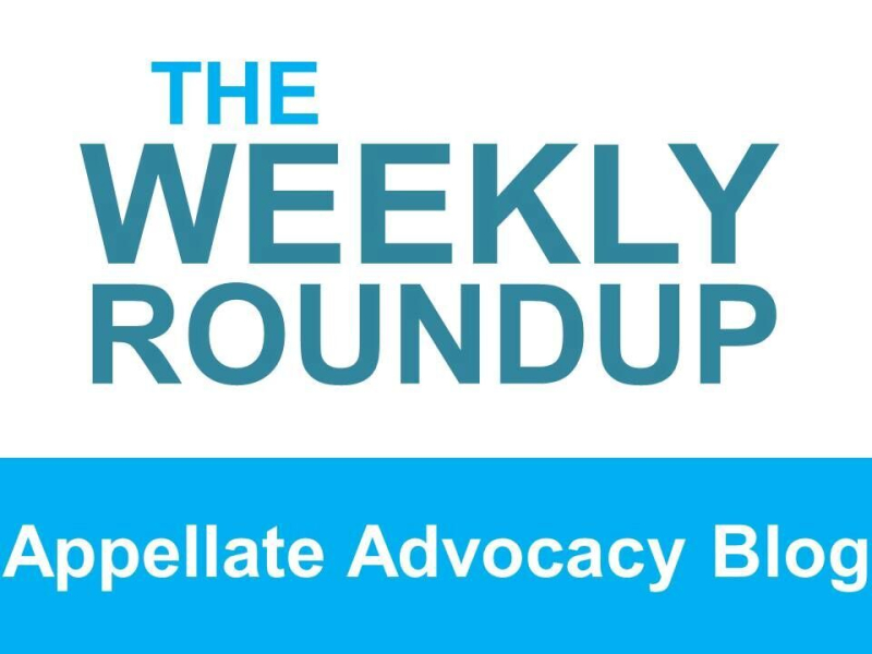 The weekly roundup image