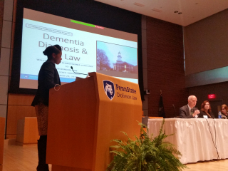 Dickinson Law's CJE Program on Dementia Diagnosis and the Law