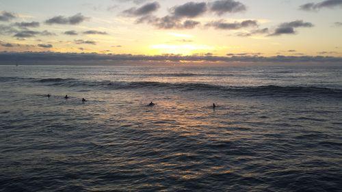 Ocean at Sunset Cliffs