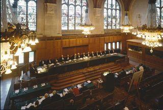 ICJ Courtroom