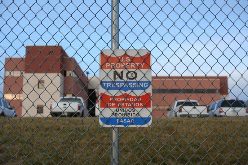 Artesia New Mexico FLETC No Tresspassing Sign