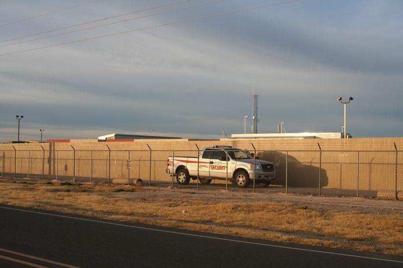 Artesia New Mexico FLETC Security Truck