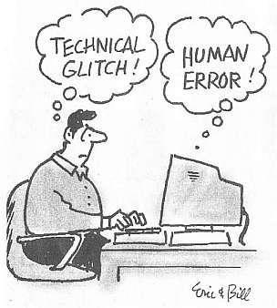 Human-error-and-computers