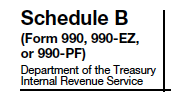 Schedule B