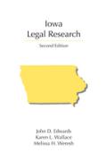 Iowa Legal Research 2d ed