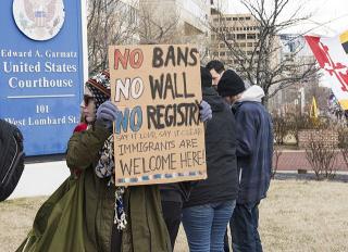 640px-Anti_Trump_immigration_protest_in_Baltimore_DSC_6704_(32475523201)