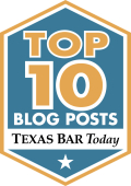 Texas Top Ten Badge