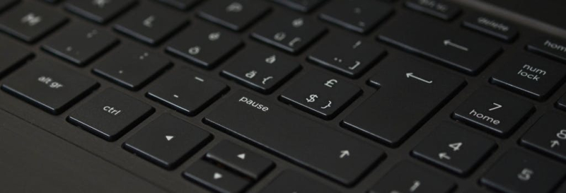 Pause keyboard