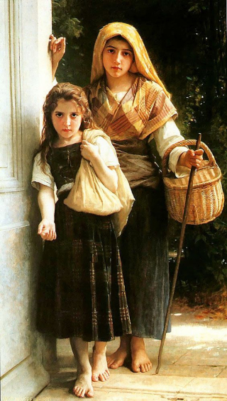William-Adolphe_Bouguereau_(1825-1905)_-_Petites_Mendiantes_(1880)