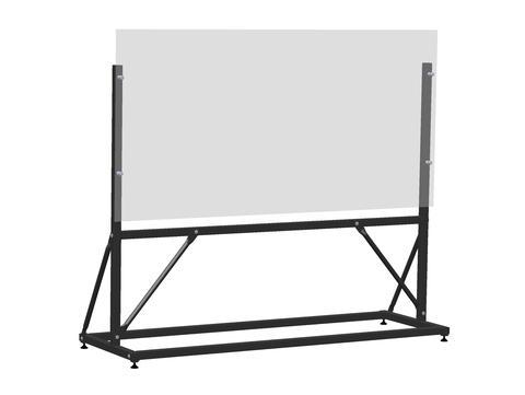 Lightboard frame