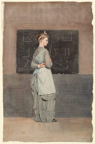 Winslow_Homer_-_Blackboard_(1877)