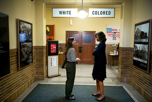 Michelle_Obama_tours_the_Brown_v_Board_of_Education_National_Historic_Site