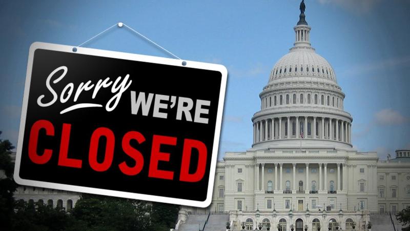 government shutdown 2019 update