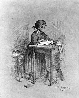 256px-Paul_Constant_Soyer_-_Little_Girl_Reading_-_Walters_371621