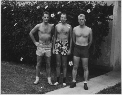 Lossy-page1-1534px-Photograph_of_Gerald_R._Ford _Jr. _and_Two_Unidentified_Men_in_Bathing_Suits_-_NARA_-_187031.tif