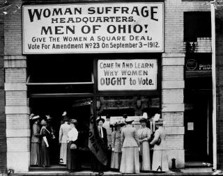 WomanSuffrageClev
