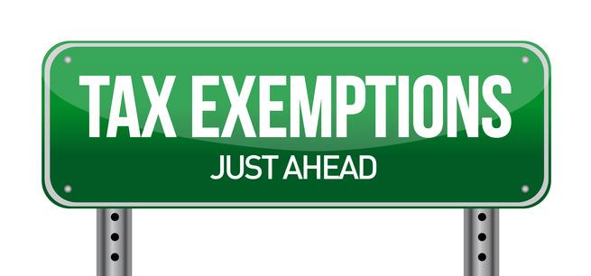 Taxexemptionsahead