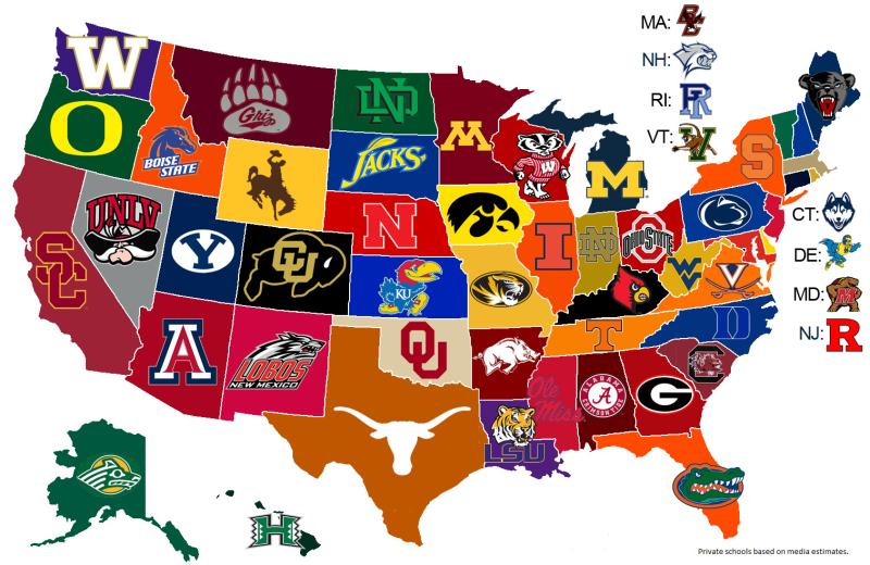 NCAA-football