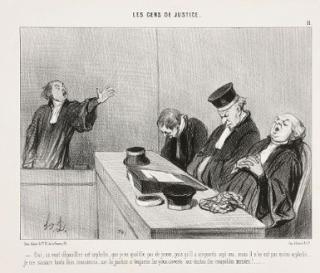 Daunier Les Gens de Justice