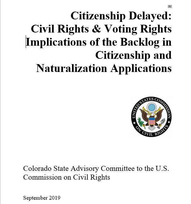 USCCR natz report