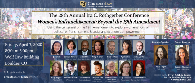 The 28th Annual Ira C. Rothgerber Conference Women's Enfranchisement_ Beyond the 19th Amendment (9)