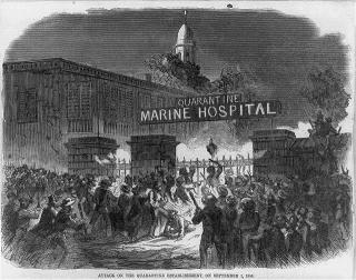 Attack-on-the-quarantine-establishment-staten-island-ny-on-september-1-1858