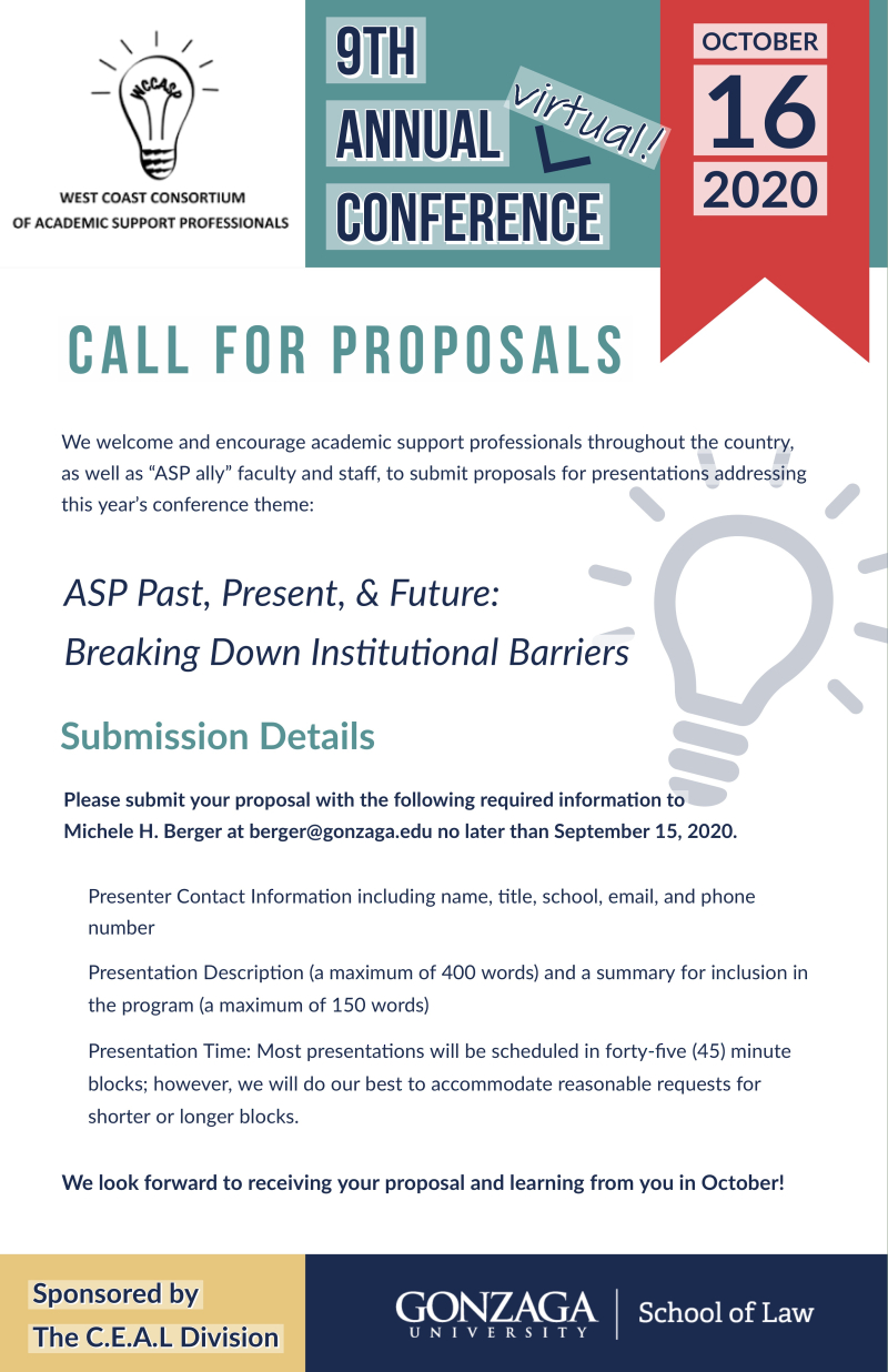 WCCASP Call for Proposals[1]