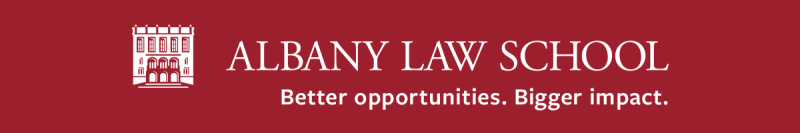 Albany-law-school-logo-with-wordmark-tag-white-on-red