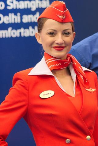 Aeroflot_flight_attendant_(hostess)