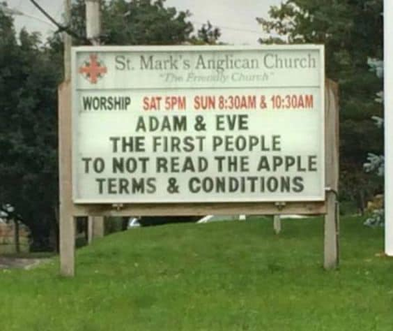 Apple ToS